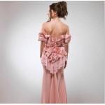 فستان سهرة من تصميم ايمان السحيم